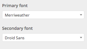 Beginner Customizer Typography