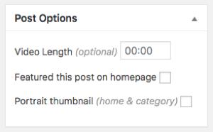 post options